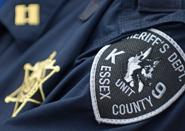 Middleton: Essex County Sheriff's Department K-9 unit badge patch.