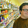 Danvers: John Sheehan's parents own the store My Low Carb Life. photo by Mark Teiwes / Salem News