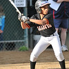 Salem: Giants batter Giancarlo Sanchez, 12, preps for a hit.  photo by Mark Teiwes / Salem News