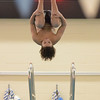 Marblehead: Marblehead diver Zach Romanovsky performs a flip during a meet against Danvers.  photo by Mark Teiwes  / Salem News