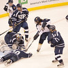 Boston: Boston: St. John's Prep hockey team lost 3-4 in overtime to Malden Catholic in the division 1A state final.   photo by Mark Teiwes / Salem News