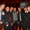 Salem: Pictured from left, Josh Gillooly, Steven DeCoste, Shane Pynn, Nate Feeley, Max Staples, Max McCarthy, and Danny Covitz at the Salem High School Junior/Senior Catillion.  photo by Mark Teiwes / Salem News
