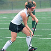 Peabody: Bishop Fenwick captain Colleen Sears sets up an offensive attack.  photo by Mark Teiwes / Salem News