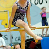 Danvers: Ashley Batakis, 9, practices on the bar at Yellow Jacket gymnastics practice.