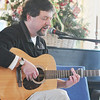 "Marblehead: Raymond Gonzalez of Marblehead sings ""Cherry Tree Carol"".  photo by Mark Teiwes / Salem News"