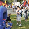 "Hamilton: Folks from Hamilton and Wenham get together for an annual ""block party"" to raise money for the community center. photo by Mark Teiwes / Salem News"