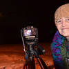 Beverly: Kim Andrist ws out taking pictures of the moon at Independence Park as it rose across the ocean.  She loves full moon nights and has been taking picture of it for the last ten years.  photo by Mark Teiwes  / Salem News