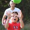 Salem: Jake Connolly, 8, of Salem makes a catch.  photo by Mark Teiwes / Salem News