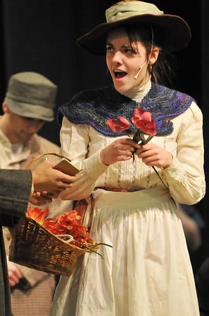 "Beverly: Rachel Stigers sings as Eliza in  ""My Fair Lady.""  photo by Mark Teiwes / Salem News"
