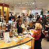Salem: The Peabody Essex Museum gift shop is full of shoppers at the end of the museum's visiting hours.  photo by Mark Teiwes  / Salem News