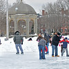 Salem:  The Salem Common Neighborhood Association hosted a Valentine Skating Party at Salem Common's ice skating rink. photo by Mark Teiwes / Salem News