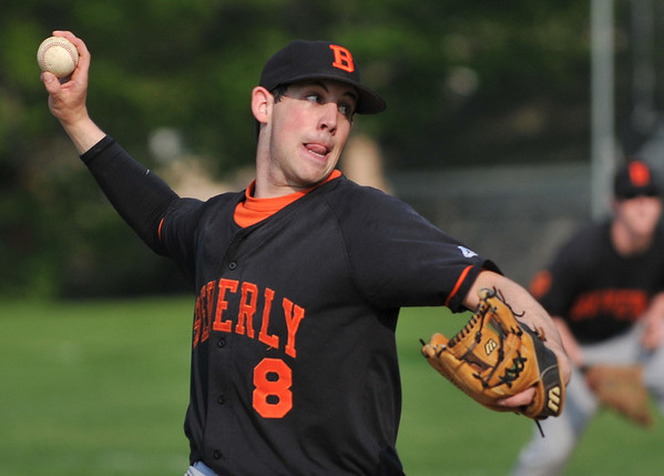 Beverly: Beverly's Chris Mitchell takes aim for a strike.  photo by Mark Teiwes / Salem News