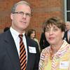 Salem: Representative John Keenan and Marilyn Segal attended the Salem Partnership's annual dinner. photo by Mark Teiwes / Salem News