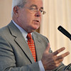 Danvers:  Robert Norton, president and CEO of North Shore Medical Center.  photo by Mark Teiwes  / Salem News