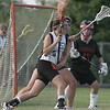Ipswich: Ipswich's Natalie Soliozy attacks the Winchester goal.  photo by Mark Teiwes / Salem News
