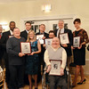 Ipswich:  Ipswich High School athletic hall of fame plaques are awarded.  photo by Mark Teiwes / Salem News