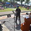 Salem: Charles Neville, left, and the Harvey Diamond Quartet perform for the Salem Jazz and Soul Festival at the Salem Willows.    photo by Mark Teiwes /  Salem News