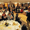 Peabody:  The Peabody Area Chamber of Commerce board members are acknowledged.  photo by Mark Teiwes / Salem News