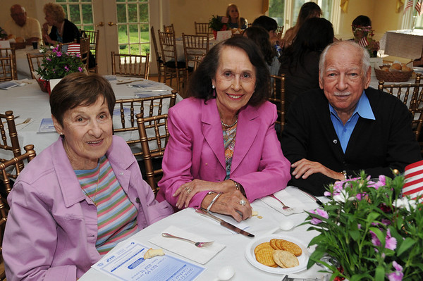 Ipswich: Pictured from left, Kiki Belezos, Alice and Chris Hahatis. Photo by Mark Teiwes / Salem News