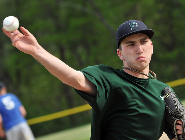 Hamilton: Pingree's pitcher Brian Rogers has not allowed a run in 25 innings this spring. Photo by Mark Teiwes / Salem News