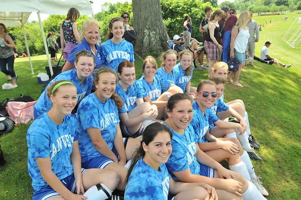 Hamilton: The U-16 Danvers Legacy team played at the Essex Country Youth Soccer playoffs. photo by Mark Teiwes / Salem News