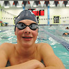 Beverly: Peabody High School freshman Alex Alex Strakosha is one of the team's top swimmers.    photo by Mark Teiwes / Salem News