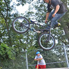 Peabody: Brandon Figueroa of Peabody launches a tailwhip at the Tanner City Skate Park photo by Mark Teiwes / Salem News