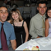 Peabody: Pictured from left, Stuart Silverman, Alana Silverman, David Colella, and Kylie Colella at the annual father/daughter ball.  photo by Mark Teiwes / Salem News