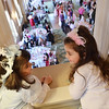 Salem: Annual Princess Tea in the grand ballroom at the Hawthorne Hotel  photo by Mark Teiwes / Salem News
