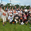 Beverly:  The 5th and 6th graders make up the Spartan Black team. photo by Mark Teiwes /  Salem News