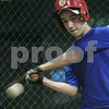 Swampscott: Kevin Clyne, 12, from Salem, takes batting practice with the Salem National Little League team at The Hit Zone in Swampscott on Wednesday. Photo by Matthew Viglianti/Staff Photographer Wednesday, June 24, 2009.