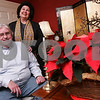 Salem: Morris and Sue Schopf of Cambridge Street in Salem will take part in Historic Salem's 29th Annual Christmas in Salem House Tour for the second time this year. Photo by Matthew Viglianti/Staff Photographer Monday, December 1, 2008.