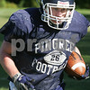 Hamilton: Pingree running back Pat George carries the ball during a practice drill on Thursday afternoon. Photo by Matt Viglianti/Salem News Thursday, September 18, 2008