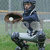 Collin Casey during a Topsfield Little League all-star practice.