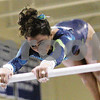 No Published Caption<br /> Original: Danvers: Morgan Whitehead from the Darien YMCA in Connecticut, competes on the bars during the USA Gymnastics Regional Championships at Danvers High School on Sunday afternoon. Photo by Matthew Viglianti/Staff Photographer Sunday, April 19, 2009.<br /> processed by IntelliTune on 19042009   213422<br /> with script Lawrence RGB to CMYK
