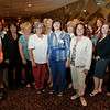 Danvers: Candace Wheeler, center, poses with Hamilton town employees at a farewell dinner to thank her 30 years of municipal service in Hamilton on Wednesday. Wheeler most recently served as Town Administrator. Photo by Matthew Viglianti/Staff Photographer Wednesday, June 2, 2010.