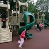 Salem: Children enjoy the newly renovated playground on Salem Common on Wednesday afternoon. Photo by Matthew Viglianti/Staff Photographer Wednesday, June 9, 2010.