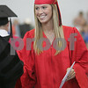 Marblehead: Emily Schmitt receives her diploma during graduation ceremonies at Marblehead High School on Sunday. Photo by Matthew Viglianti/Staff Photographer Sunday, June 7, 2009.