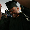 "Swampscott: Nicholas Ventura from Lynn sways to the music as Cheri Spencer sings ""I Hope You Dance"" during the graduation ceremony at Marion Court College in Swampscott on Wednesday. Photo by Matthew Viglianti/Staff Photographer Wednesday, May 26, 2010."