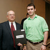 Salem News Student-Athlete Award dinner. John St. Pierre with Nelson Benton.