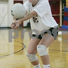 Hamilton: Kathryn Craig, co-captain of the Hamilton-Wenham volleyball team. <br /> Photo by Matt Viglianti/Salem News Monday, September 15, 2008