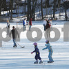 Danvers: Skaters and hockey players enjoy an afternoon on the ice on Hobart Street in Danvers on Sunday. Photo by Matthew Viglianti/Staff Photographer Sunday, January 4, 2009.