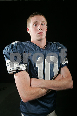 Beverly: Hamilton-Wenham junior quarterback Andy Duval. Photo by Matt Viglianti/Salem News Tuesday, September 02, 2008
