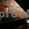 Salem: Javier Marquez graduated from Salem State with a degree in music last year. Next weekend, Cantemus Chorus will debut one of his compositions at their spring concert. Photo by Matthew Viglianti/Staff Photographer Sunday, April 26, 2009.