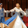 "Beverly: Mike Macisso spins Juls Wattley as Amanda Methot, second right, and Alyssa DiBenedetto, right, follow along with the scene during rehearsal for Endicott College's musical, ""Kiss Me Kate"" on Wednesday night. Macisso plays Bill and Lucentio, while Wattley plays Lois and Bianca. Methot and DiBenedetto are the lead dancer and dance captain, respectively. Photo by Matthew Viglianti/Staff Photographer Wednesday, March 25, 2009."