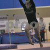 Danvers: Lauren Ross from Connecticut performs a floor routine during the USA Gymnastics Regional Championships at Danvers High School on Sunday afternoon. Photo by Matthew Viglianti/Staff Photographer Sunday, April 19, 2009.