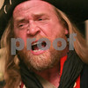 "Salem: ""Snitch,"" a local pirate from Marblehead, sings a pirate song a party celebrating the anniversary of Nathaniel Bowditch's return from sea on Christmas Day in 1803 at Hamilton Hall in Salem on Sunday. Photo by Matt Viglianti/Salem News Sunday, December 14, 2008"