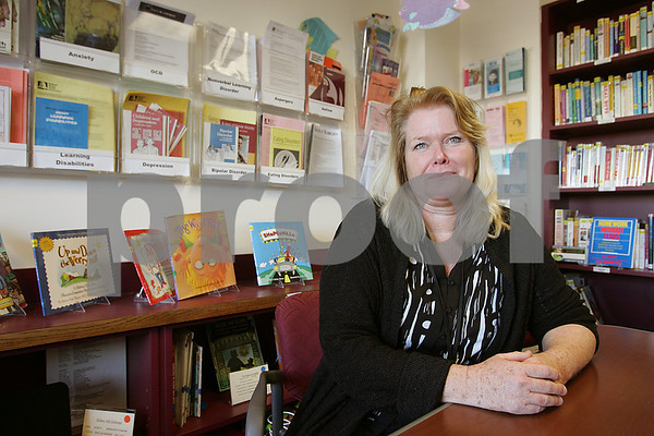 Salem: Marguerite Roberts, an employee at Salem Hospital, will have her artistic work featured at the Marblehead Arts Association Exhibit. Photo by Matt Viglianti/Salem News Wednesday, February 25, 2009