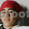 Topsfield: Masconomet senior Kevin Anderson was raised by his mother after his father died in the Philipines when Kevin was a boy. Today, he is one of Masco's top football players. Photo by Matt Viglianti/Salem News Sunday, November 30, 2008