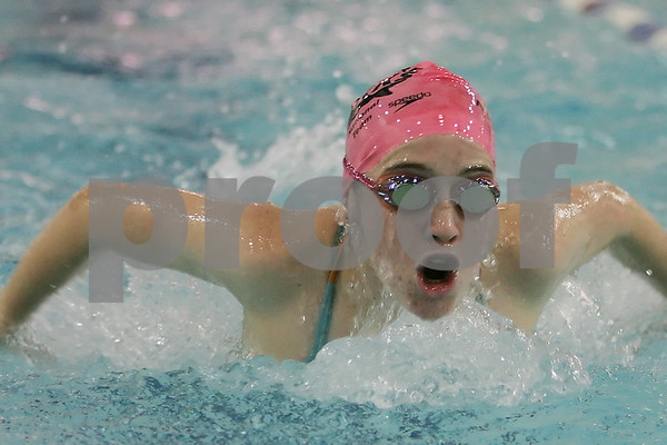 Top 10 New England swimmers participating on the Sharks swim team at the Sterling Center YMCA in Beverly. From Beverly, Kelly O'Connor.